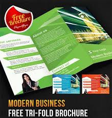 Templates For Brochures Free Download 27 Free Best Business Brochures Templates In Psd