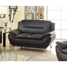 contemporary living room couches. Alice Black Faux Leather Modern Living Room Loveseat Contemporary Living Room Couches