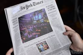 dota 2 is on the front page of today s new york times the verge