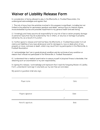 Example Of Release Of Liability Form Liability Release Form Form Trakore Document Templates 9