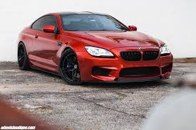 Coupe Series black bmw m6 : Sakhir Orange BMW M6 Looks Monstrous With Black Wheels | BMW F13 ...