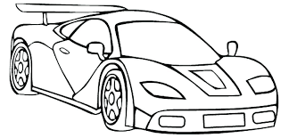 cars coloring book pages car page race sheet muscle