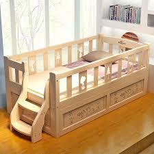 nice wood toddler bed