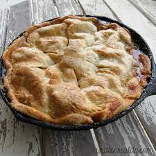 Add brown sugar and cook, stirring constantly until melted and thickening, and all sugar is dissolved. Easy Skillet Apple Pie Recipe Written Reality
