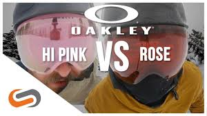 Oakley Prizm Hi Pink Vs Prizm Rose Lens Update Sportrx Com