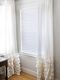 Short Bedroom Window Curtains 19 Diy Window Treatments To Update Your Space Brit Co