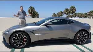 The 2019 Aston Martin Vantage Is A 185 000 True Sports Car Youtube