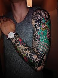 Tetování Rukáv My Free World