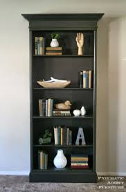 Ana White | How To Upgrade Bookshelves - Featuring Pneumatic Addict  Furniture - DIY Projects