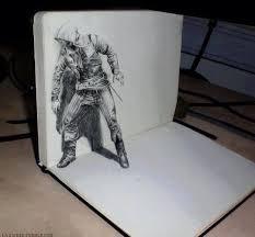 Sketching 3d Very Cool 3d Drawing 3d Pencil Drawings 3d Drawings