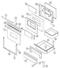 Maytag maytag cooking parts model crg9700cae sears partsdirect m0312410 00005 0124002html