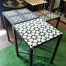 moroccan outdoor furniture. Luxury Moroccan Outdoor Furniture And Tile Table 54 Chairs .