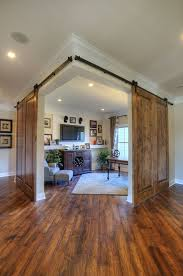 Image Entry Corner Office Or Study Area With Double Sliding Barn Doors By Shumacher Homes Pinterest Interior Decorating Tips For Someone Looking To Improve Their Home