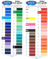 Egg Dye Color Chart Food Color Mixing Chart Www Bedowntowndaytona Com