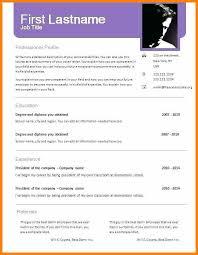 Cv Templates Doc Cv Templates Free Download Free Resume Templates