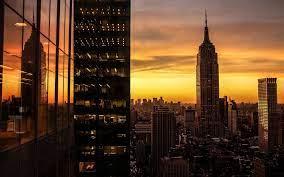 New York Sunset - 1920x1200 Wallpaper ...