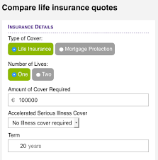 Life Insurance Comparison Tables Insurance Information
