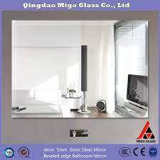 china supply frameless wall mirror