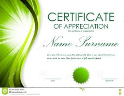 Certificate Of Appreciation Template Microsoft Publisher