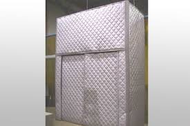 quilted barrier absorber curtain panels for noise control
