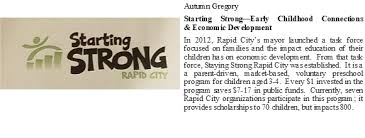 Autumn Gregory - Starting Strong Rapid City | Rotary Club of Rapid City