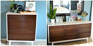 paint sprayer for furnitureNightstand  Appealing Img Refinished Nightstand Two It Yourself