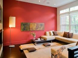 Energetic Red Wall colors living room - which come in shades shortlisted?