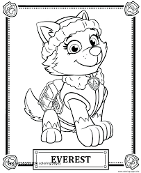 Free Paw Patrol Coloring Pages And Free Printable Paw Patrol