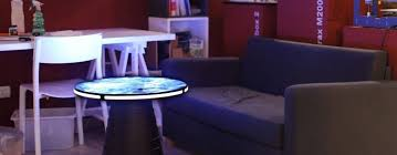 trippy transforming coffee table