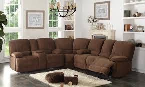 sectional with chaise and recliner.  And Kevin Reclining Sectional Intended With Chaise And Recliner C