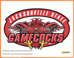 Gamecock Embroidery Design Collection Jacksonville State Gamecocks College Sports Embroidery Logo In 4 Sizes Spln002075