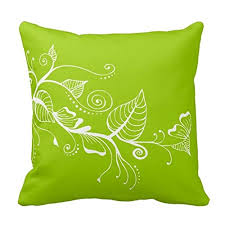 Lime Green Decorative Accessories Lime green decorative pillows for your living and bedroom space 27