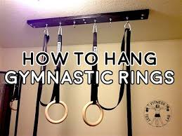 how to hang gymnastic rings le and featured pic