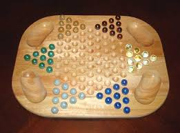 Wooden Sequence Board Game Chinese checkers Wikipedia 56