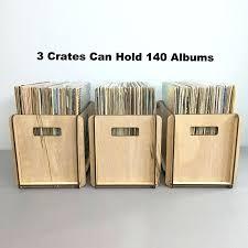 record storage crate three vinyl rrd storage crates special free friendly birch ply wood diy