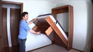 built into wall bed. Interesting Wall How I Built My Wall Bed Quickly And Easily With Easy DIY Murphy Bed  Hardware Kit  YouTube For Built Into Wall E