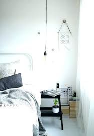 Bedroom Pendant Lights Hanging Bedside Double Deck With Brass
