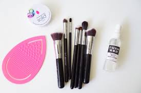 how often do you wash your makeup brushes and what s your favorite brush cleaner i want to hear all about it