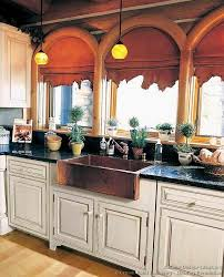 result for kitchen design ideas org images kitchen cabinets traditional two tone 149 cp506e white log home a copper farm sink arch jpg