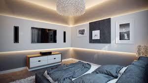 contemporary bedroom design. View In Gallery Contemporary Bedroom Design With Cool Lighting M