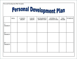 Personal Action Plan Template Stunning Child Care Action Plan Template Of Individual Development Plan Day
