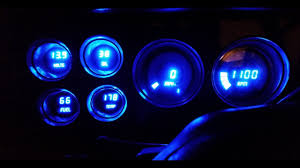 73 87 chevy gmc c10 intellitronix digital gauge cluster blue 73 87 chevy gmc c10 intellitronix digital gauge cluster blue install part 2