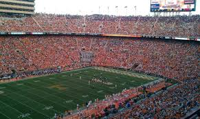 Neyland Stadium Section Xx2 Row 9 Seat 13 Tennessee