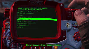 fallout 4 cheat terminal formerly cheat menu console mod showcase