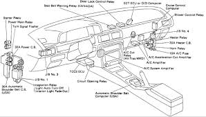 toyota supra fuse box wiring diagram 99 Camry Fuse Box Location at 16 Camry Fuse Box