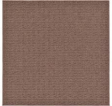 unique loom 6 x 6 outdoor modern square rug
