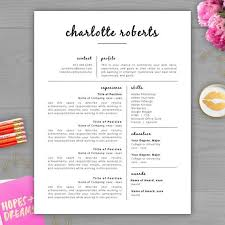 Cute Resume Templates Simple Free Fancy Resume Templates Commily