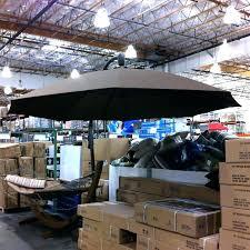 cantilever patio umbrella costco offset patio umbrella replacement canopy for ft