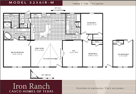 Awesome 3 Bedroom 2 Bathroom Floor Plans Terrific 5 4 Bedroom 2 Bath Double Wide  Manufactured Homes. »