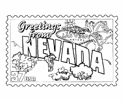Small Picture USA Printables Alabama State Stamp US States Coloring Pages